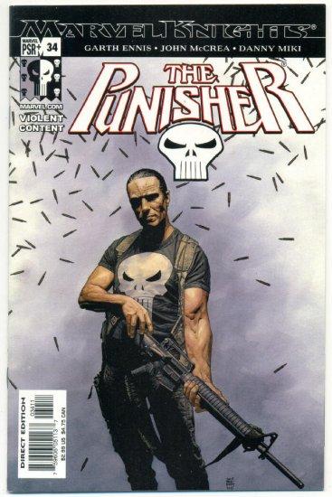 The Punisher #34 Marvel Knights Spidey DD Wolverine VFNM