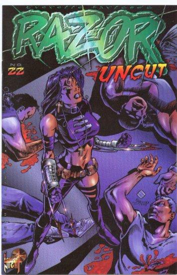 Razor #22 London Night Mature Series 1996 NM