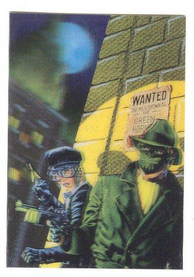 Green Hornet Promo Card 4H Now Comics 1993 HTF