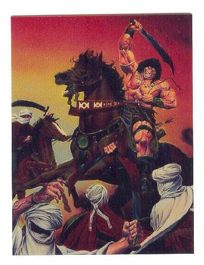 Conan Cromium Series II Promo Card 1994 HTF
