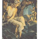 Maxfield Parrish Promo Card Fine Art series 1994