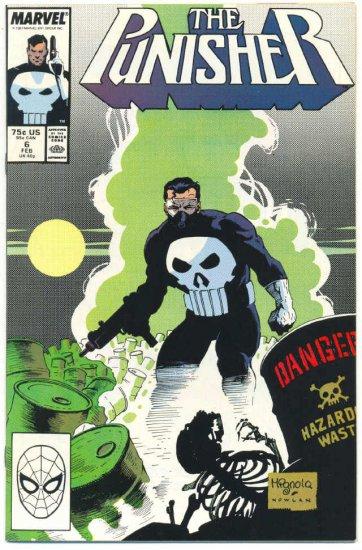 The Punisher #6 Hazardous Waste Mignola Art