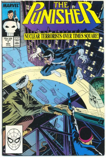The Punisher #7 Nuclear Terrorists Over Times Square