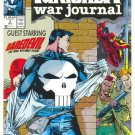 The Punisher War journal #2 Daredevil Crossover Jim Lee Art !