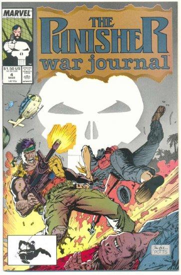 The Punisher War journal #4 Sniper Jim Lee Art !
