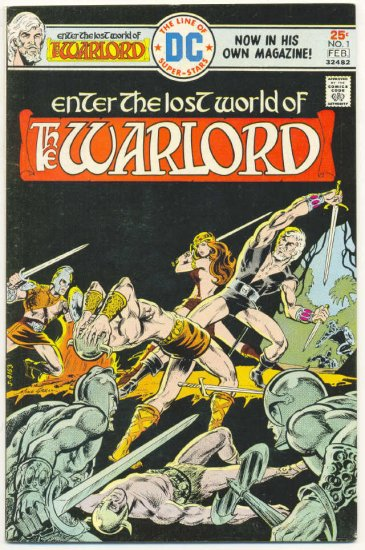 The Warlord #1 Mike Grell Classic 1976 !