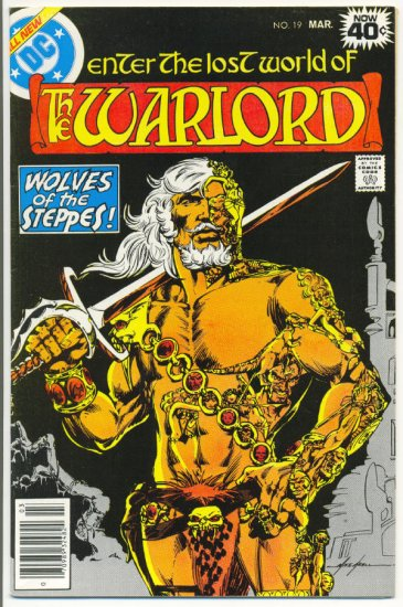 The Warlord #19 Wolves Of The Steppes Mike Grell Classic 1979 !