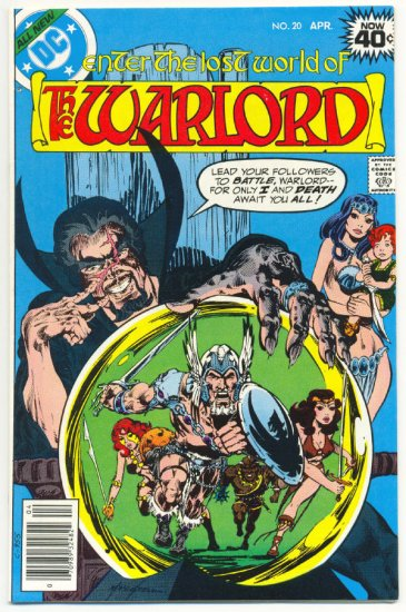The Warlord #20 Death Awaits Mike Grell Classic 1979 !