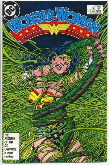 Wonder Woman #5 George Perez Art! VF/NM condition