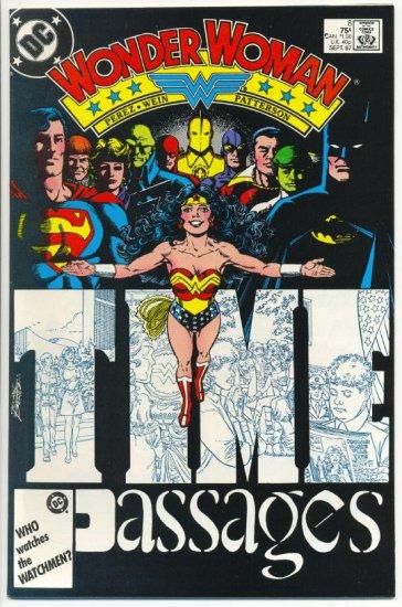 Wonder Woman #8 George Perez Art! VFNM condition