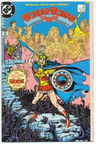 Wonder Woman #10 Challenge Of The Gods George Perez Art VF
