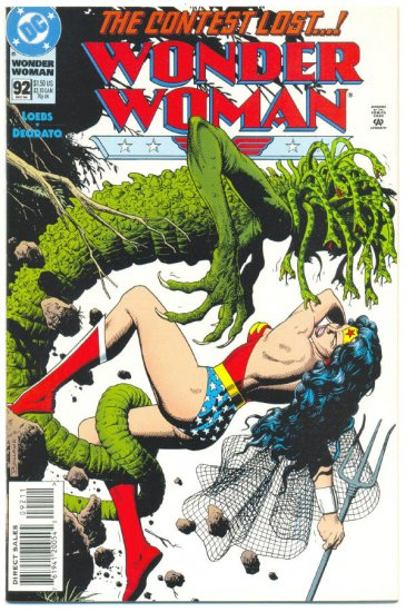 Wonder Woman #92 The Contest Deodato Art VFNM