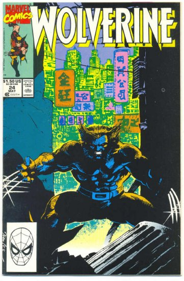 Wolverine #24 Gene Colan & Jim Lee Art VFNM !
