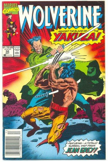 Wolverine #32 Blade Of The Yakuza VFNM !