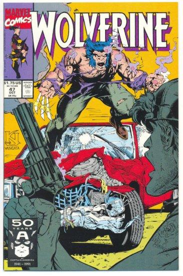 Wolverine #47 Wolvie Gets A Parking Ticket! NM