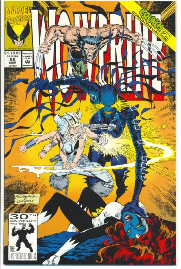 Wolverine #52 Citadel At The End Of Time Silvestri Art NM !