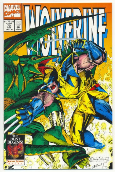 Wolverine #70 Sauron Is Back NM !