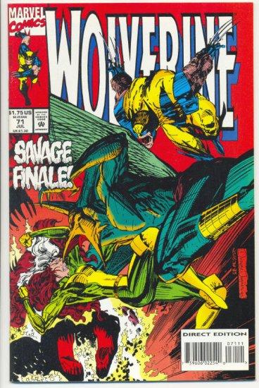 Wolverine #71 Savage Finale... VFNM