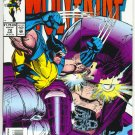 Wolverine #72 Where Walks A Sentinel!  NM