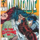 Wolverine #80 In The Clutches Of Cyber! Churchill Art NM !