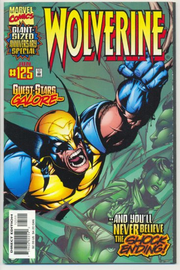 Wolverine #125 Giant-Sized Anniversary Special VF/NM