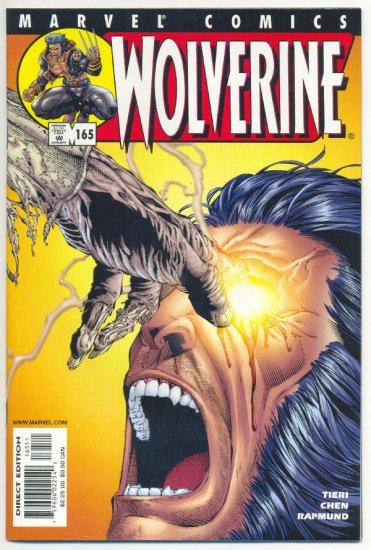 Wolverine #165 Eat And Run Chen Art NM !