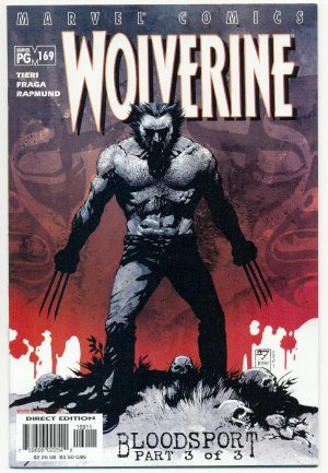 Wolverine #169 Bloodsport NM !