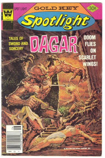 Gold Key Spotlight #6 Dagar The Invincible HTF Bronze Age !