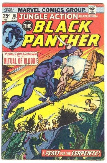 Jungle Action #16 Ritual Of Blood Graham Art 1975 !