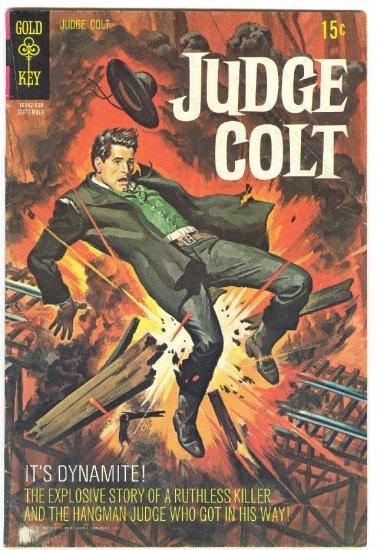 Judge Colt #4 Gold Key 1970 HTF Last Issue !