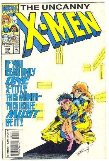Uncanny X-Men #303 The Legacy Virus !