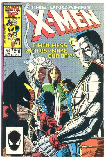 Uncanny X-Men #210 Make Our Day Mutant Massacre Key Issue