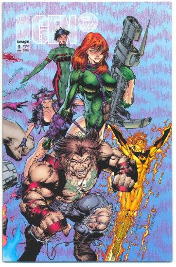 Gen 13 #5 Variant Final Issue Jim Lee & Campbell 1994