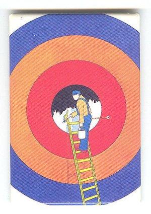 Miroslav Bartak fine art image on fridge magnet