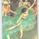 Edgar Degas fine art image on fridge magnet