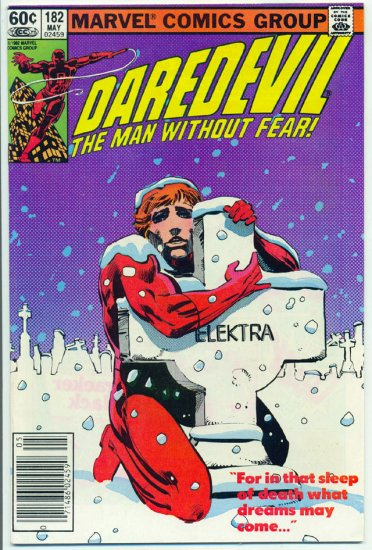 Daredevil #182 The Sleep Of Death Frank Miller Classic !