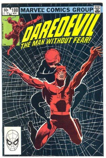 Daredevil #188 The Black Widow Miller/Janson Classic!