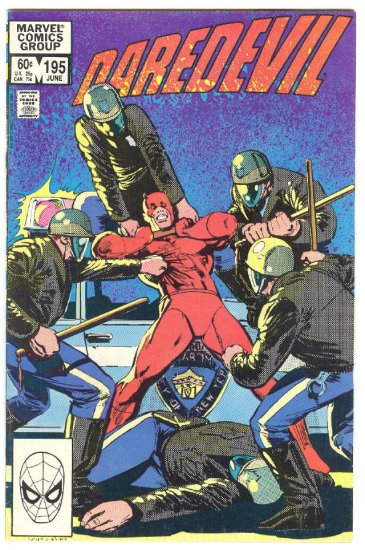 Daredevil #195 Betrayal !