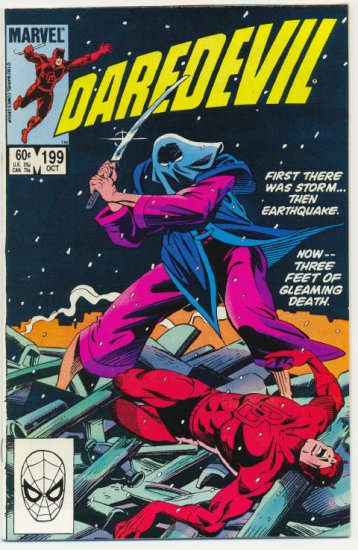 Daredevil #199 Storms And Death !