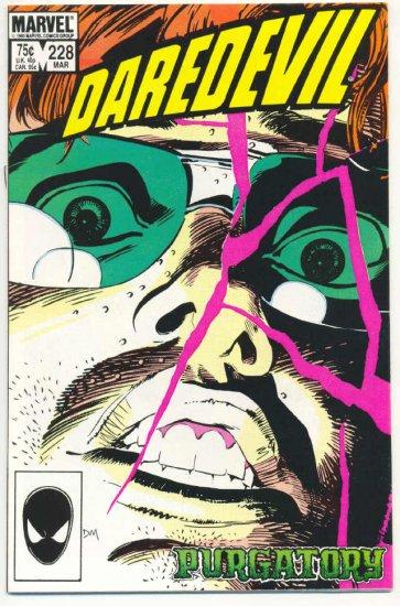 Daredevil #228 Purgatury Born Again series !