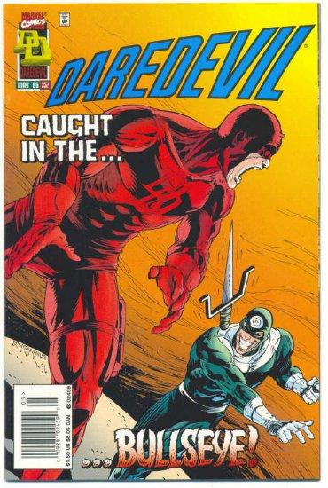 Daredevil #352 Caught In The Bullseye !