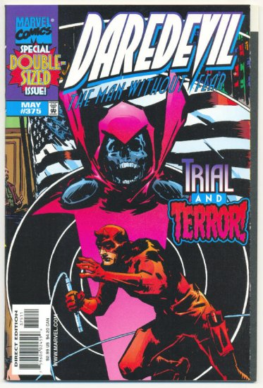 Daredevil #375 Trial And Terror Giant-Sized Issue!