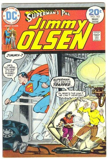 Superman's Pal Jimmy Olsen #163 HTF Last Issue 1974 !