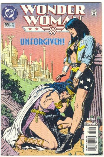 Wonder Woman #99 The Unforgiven Deodato Art !
