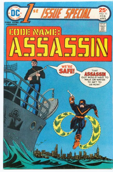1st Issue Special #11 Code Name Assassin HTF 1976 DC