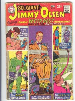 Superman's Pal Jimmy Olsen #104 HTF 80 Page Giant 1967 !