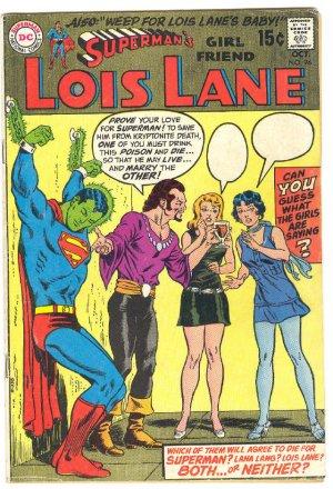 Superman's Girlfriend Lois Lane #96 1969 !