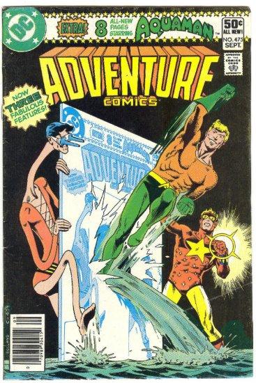 Adventure Comics #475 Bolland Ditko Art 1980 !
