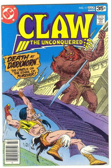 Claw The Unconquered #11 Giffen Art 1978 !
