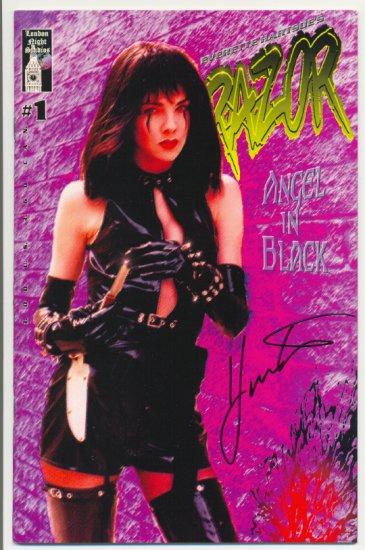 Razor Angel In Black London Night Signed Hartsoe VFNM